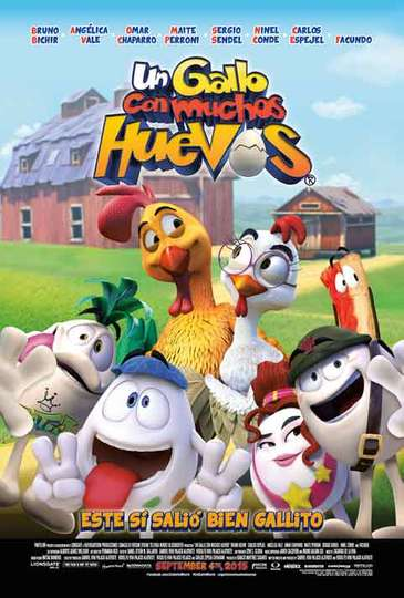Huevos: Little Rooster's Egg-Cellent Adventure poster