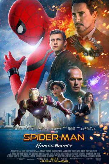 Spider Man Homecoming 2017 Stream And Watch Online Moviefone
