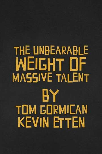 The Unbearable Weight of Massive Talent poster