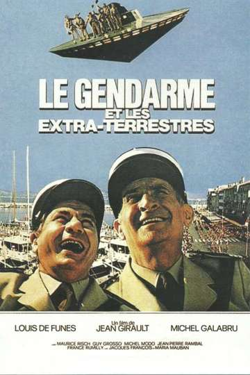 The Gendarme and the Creatures from Outer Space poster