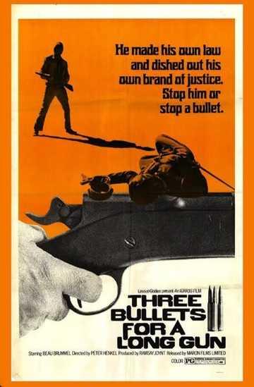 Three Bullets... for a Long Gun Poster