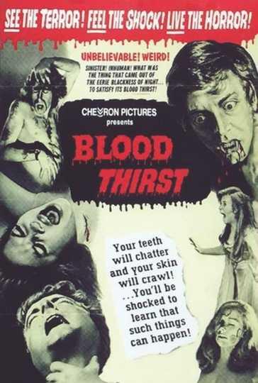 Blood Thirst Poster