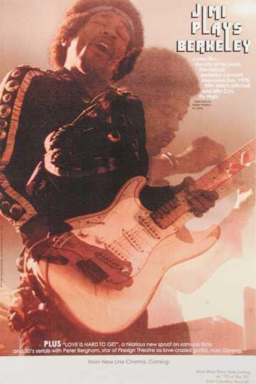 Jimi Hendrix - Jimi Plays Berkeley Poster