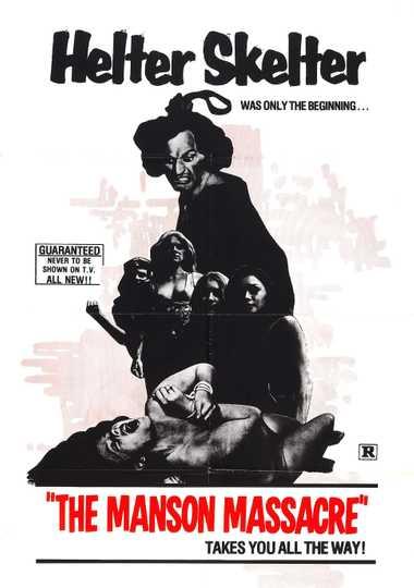 The Manson Massacre Poster