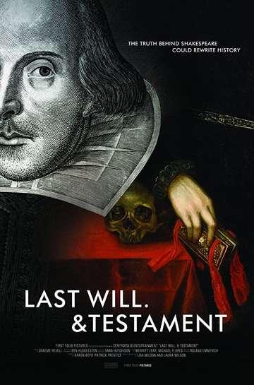 Last Will. & Testament poster
