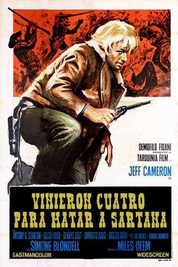 Four Came to Kill Sartana poster