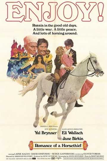 Romance of a Horsethief Poster