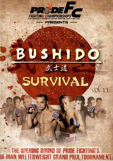 Pride Bushido 11 poster