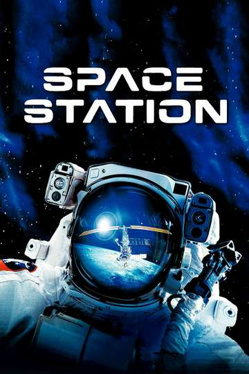 Space Station 3D poster