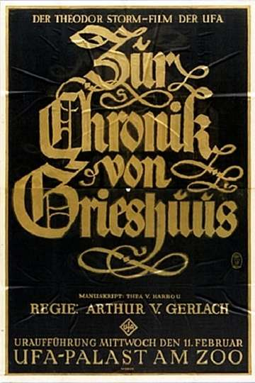 The Chronicles of the Gray House poster