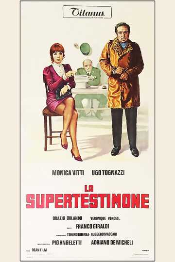 The Superwitness Poster