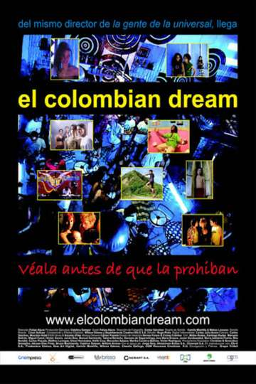 El Colombian Dream poster