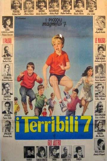 I terribili sette poster
