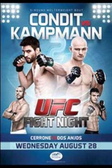 UFC Fight Night 27: Condit vs. Kampmann 2 poster