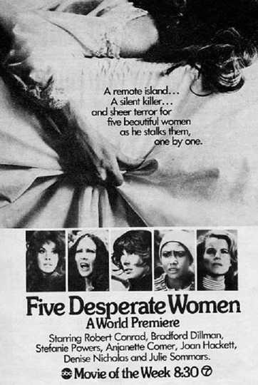 Five Desperate Women Poster