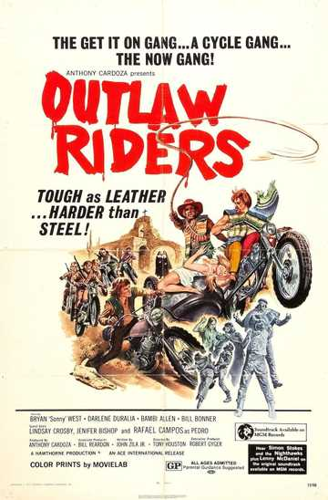 Outlaw Riders Poster