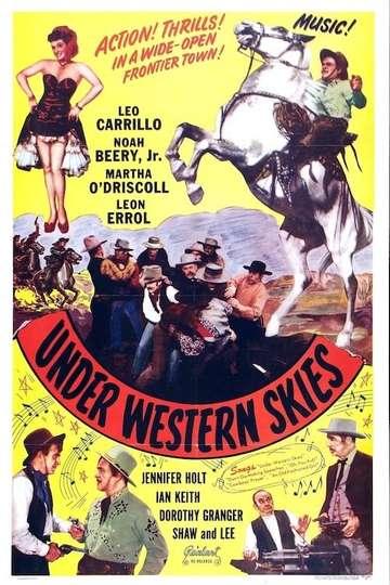 Under Western Skies poster