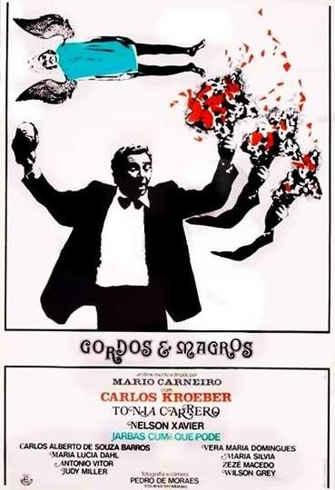 Gordos e Magros poster