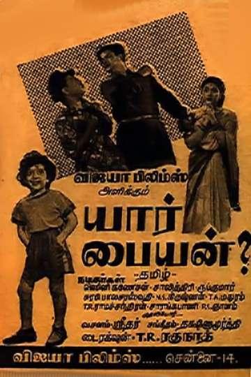 Yaar Paiyyan poster