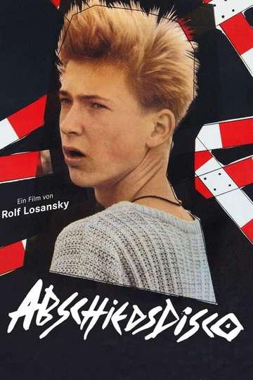 Abschiedsdisco poster