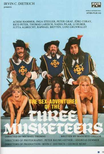 The Sex Adventures of the Three Musketeers Poster