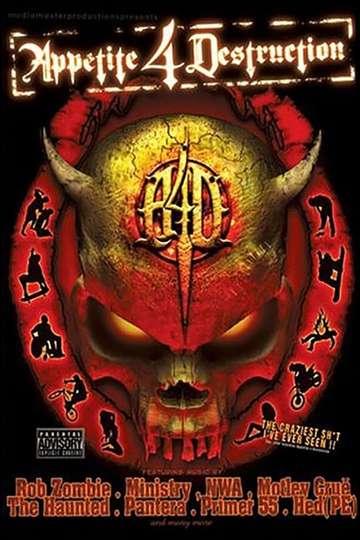 Appetite 4 Destruction poster