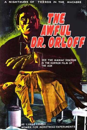 The Awful Dr. Orlof poster