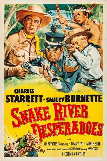Snake River Desperadoes poster