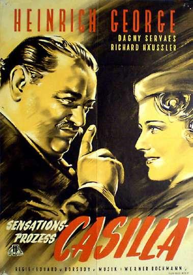 Sensationsprozess Casilla poster