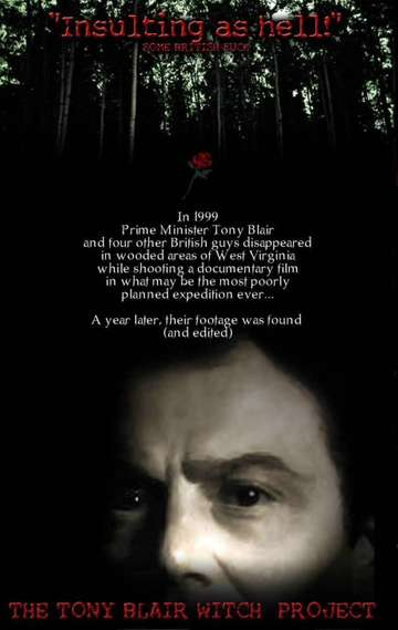 The Tony Blair Witch Project poster