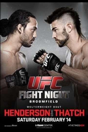UFC Fight Night 60: Henderson vs. Thatch poster