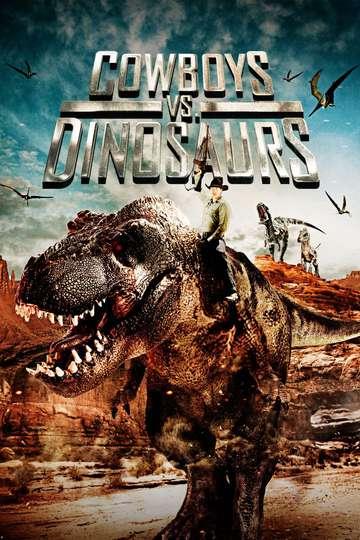 Cowboys vs. Dinosaurs poster