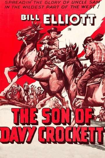 The Son of Davy Crockett poster