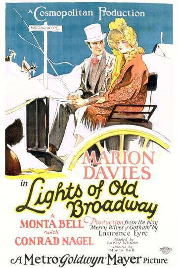Lights of Old Broadway poster