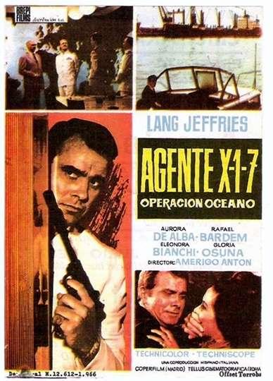 Agente X1-7 operazione Oceano poster