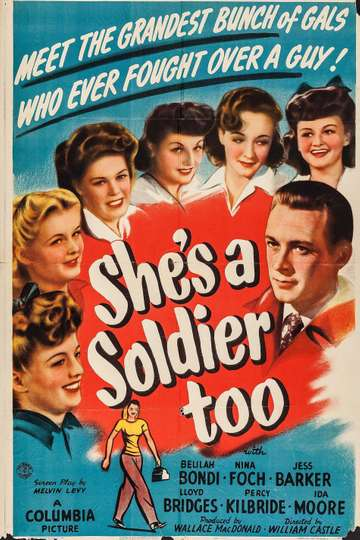 She's a Soldier Too poster