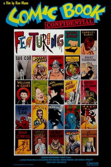 Comic Book Confidential poster
