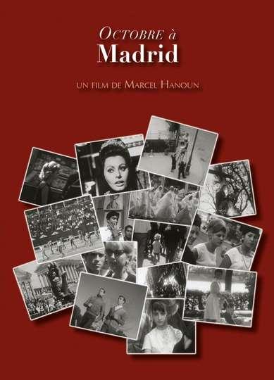 October in Madrid poster