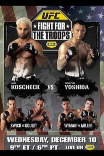 UFC Fight Night 16: Fight for the Troops poster
