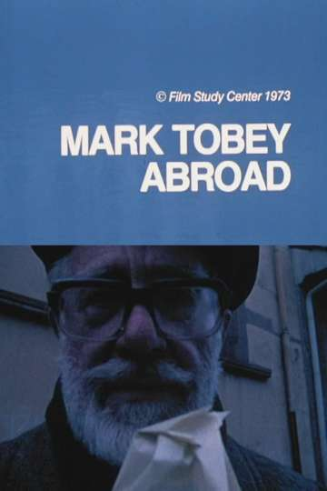 Mark Tobey Abroad poster