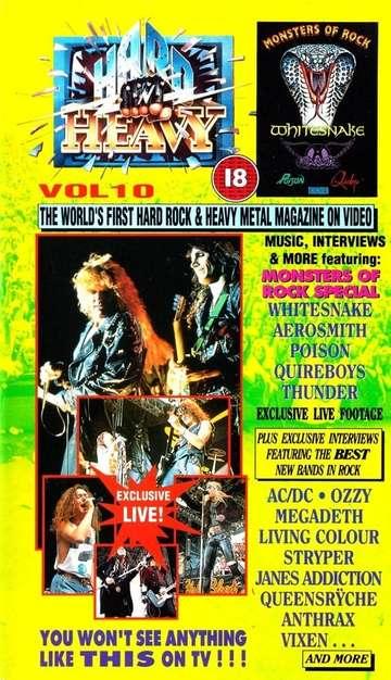 Hard 'N Heavy Volume 10 poster