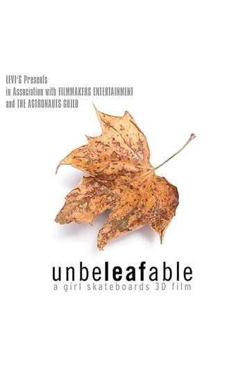 Unbeleafable poster
