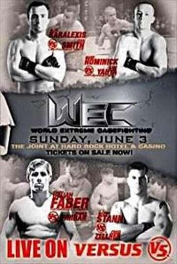WEC 28: Faber vs. Farrar poster