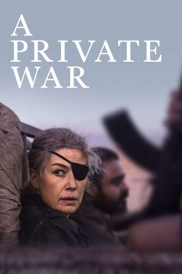 A Private War poster