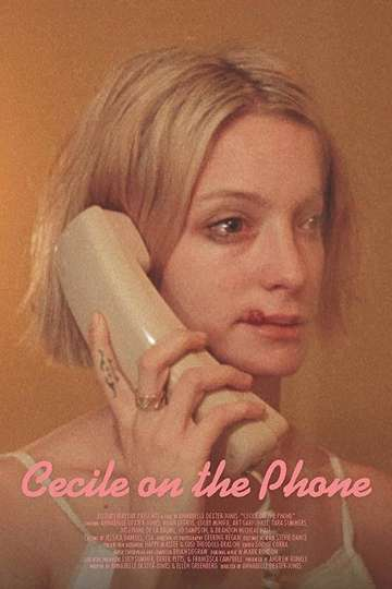 Cecile on the Phone poster