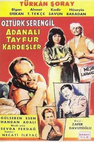 Adanalı Tayfur Kardeşler poster