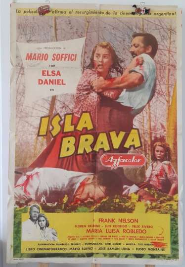 Isla brava poster