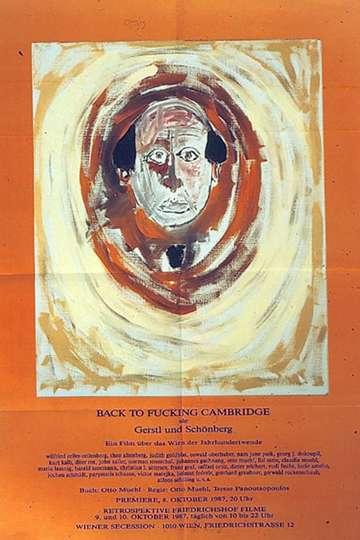 Back to Fucking Cambridge poster