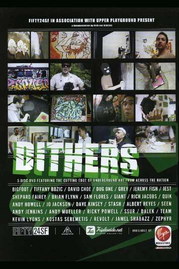 Dithers: The Cutting Edge of Underground Art From Across the Nation poster