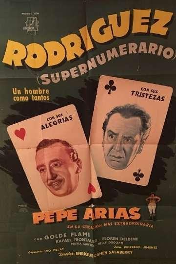 Rodríguez supernumerario poster